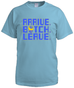 Arrive Botch Leave (Male Shirt)