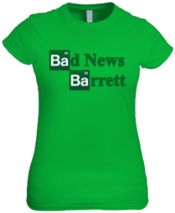 Bad News Barrett - Breaking Bad Logo (Female Shirt)