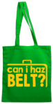 can i haz belt (Tote Bag)